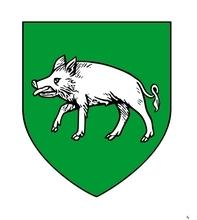 """La pays de Portus est cité au Moyen Âge, dans le testament de st-Remy, comme appartenant à Charles le Chauve...Il est alors pagus Portuensis, pagus Portensis, pagus Porcensis, territorium Portense. Le comté relève de l'Église de Reims. Lors du Traité de Verdun en 843, le pagus portuensis est cédé à Charles le Chauve. Il devient dès lors un comté-frontière. Le Porcien et ses comtes endossent, de fait, le rôle de défenseurs du royaume contre le puissant voisin Lotharingien et surtout Germanique. Au XIIe siècle, le comté passe à la maison de Grandpré, puis au XIIIe siècle, le comté appartient à la maison de Châtillon. Les principales places fortes se trouvaient à Rethel et Château-Porcien. Source Wikipedia, article """"Comté de Porcien""""."""