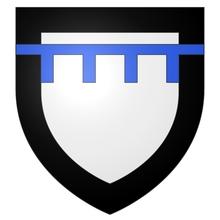 Armes de la famille de LANDAS (cadet) sur écu ancien.