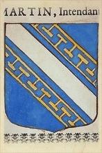 Blasons de la famille DE CHAMPAGNE établie à MORSAINS (51)
