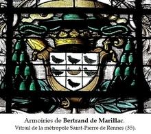 BERTRAND de MARILLAC (franciscain), évêque de Rennes (35) 1566-1573