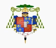 ARMAND-JULES de ROHAN-GUÉMÉNÉ (15e enfant ; il sacra LOUIS XV), prince de Guéméné ; archevêque-duc de Reims (51) + pair de France 1722-1762.