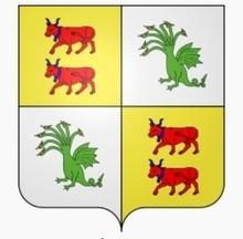 """""""La maison de Belsunce, qui tire son nom d'un château situé dans la paroisse d'Ayherre, au pays d'Arberoue, est l'une des plus nobles et des plus illustres de la Basse Navarre.""""Le plus ancien titre qu'on rapporte, dont l'original est, dit-on, dans les archives du château de Belsunce, est une vente faite, l'an 1145, de la vicomté de Macaye et de la terre de Pagandure, par Raymond-Arnaud, vicomte d'Acqs, pour le prix de 6000 florins d'or, en faveur de Roger, seigneur de Belsunce""""."""